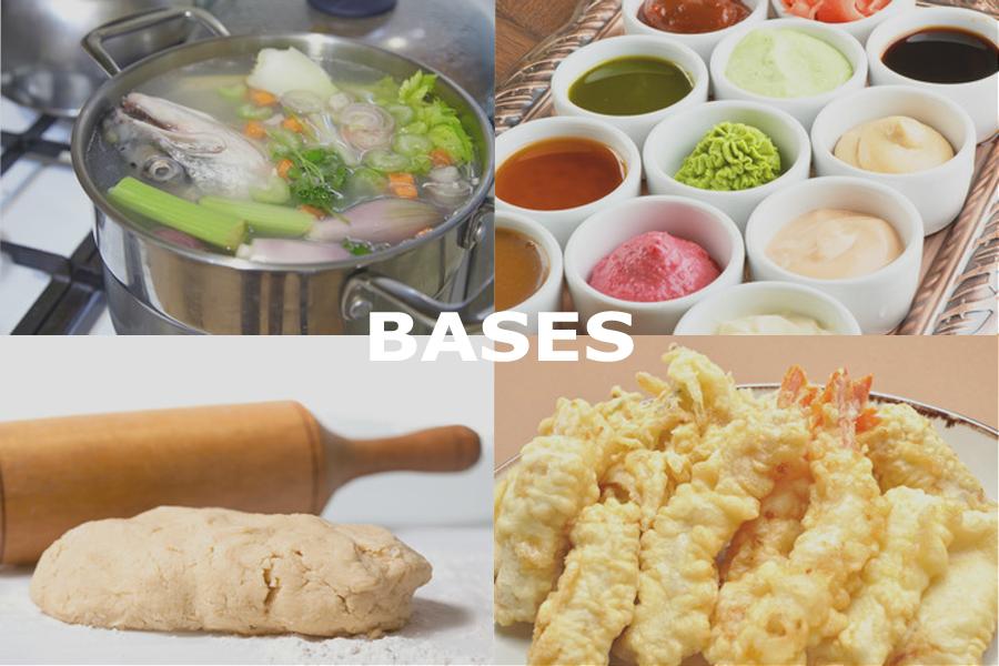preparar las bases de tus platos en la cocina tradicional