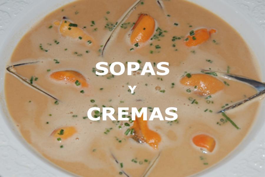 Recetas para preparar sopas y cremas. Cocina tradicional