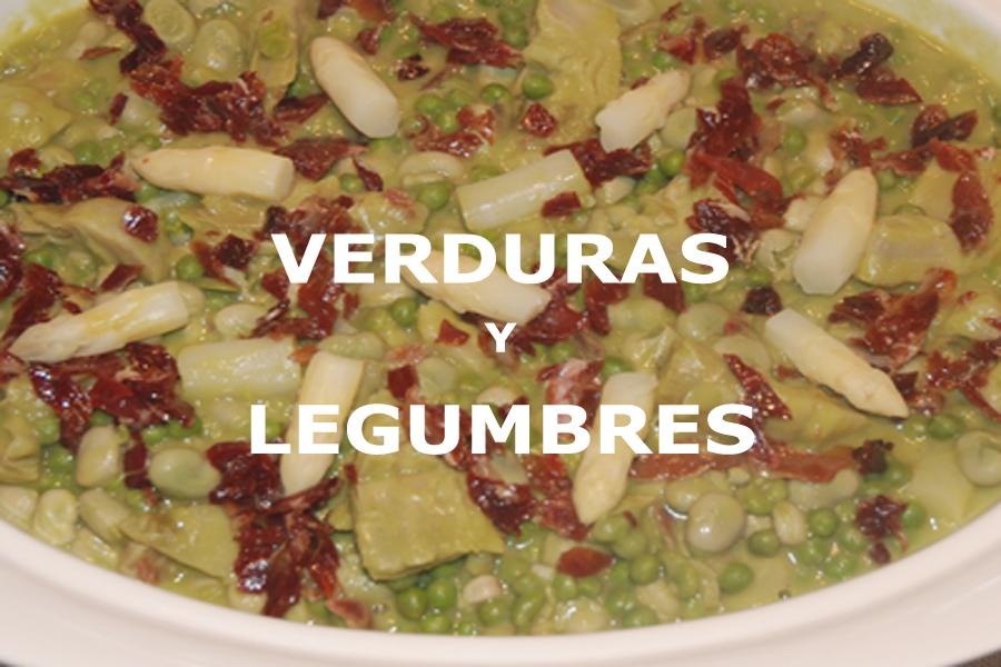 Recetas para preparar platos de verduras y de legumbres